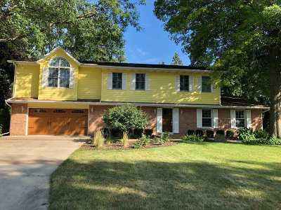 Janesville Single Family Home For Sale: 2314 Navajo Ct