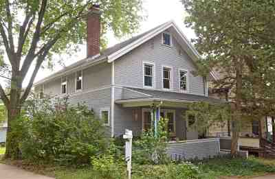 Madison Single Family Home For Sale: 201 Division St