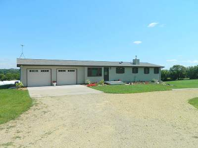 Green County Single Family Home For Sale: W4851 Middle Juda Rd