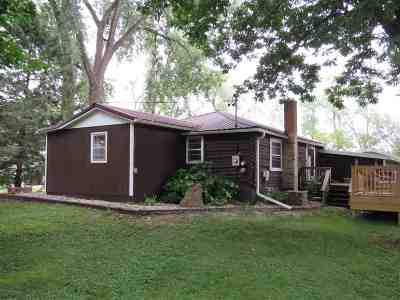 Dodge County Single Family Home For Sale: N10960 County Road A