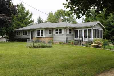 Stoughton Single Family Home For Sale: 2724 County Road B
