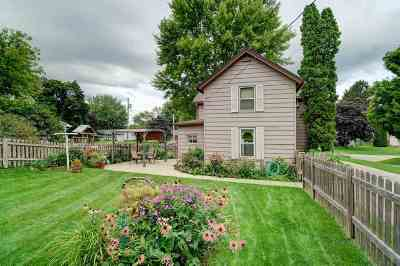 Stoughton Single Family Home For Sale: 609 Berry St