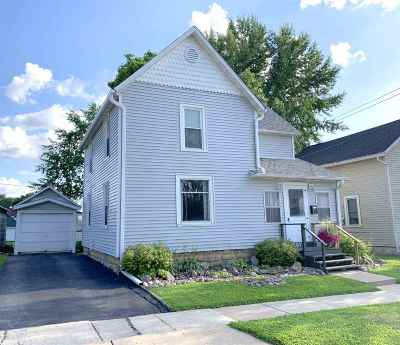 Richland Center Single Family Home For Sale: 153 W 6th St