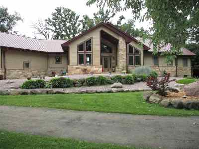Deforest Single Family Home For Sale: W5367 County Road Dm