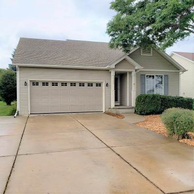 Madison Single Family Home For Sale: 1126 Glacier Hill Dr