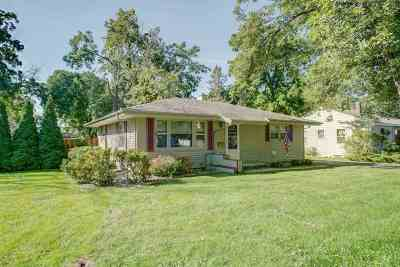 Evansville Single Family Home For Sale: 411 W Liberty St