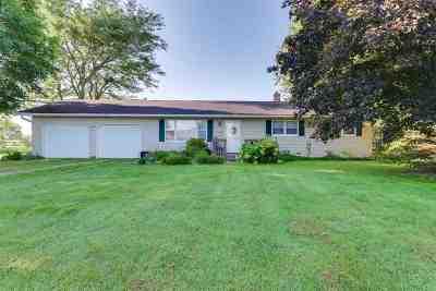 Sun Prairie Single Family Home For Sale: 1919 Muller Rd