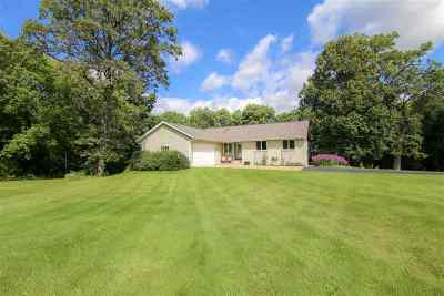 Columbus Single Family Home For Sale: N2001 County Road N