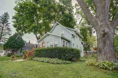 Madison Single Family Home For Sale: 107 E Lakeview Ave