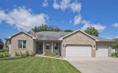 Madison Single Family Home For Sale: 6102 Cottontail Tr