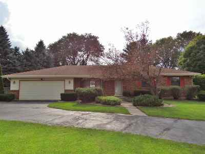 Janesville Single Family Home For Sale: 817 Somerset Dr