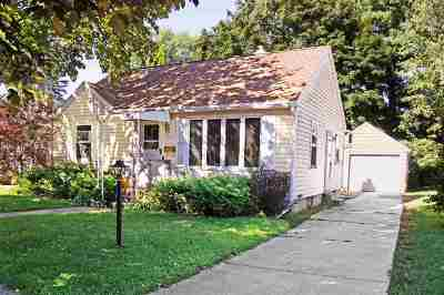 Janesville Single Family Home For Sale: 547 N Palm St