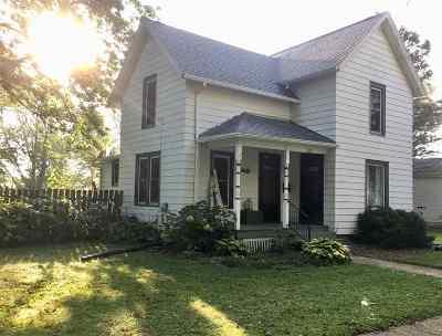 Evansville Single Family Home For Sale: 320 Cherry St
