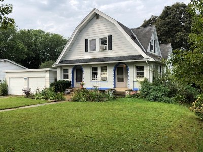 Mount Horeb WI Single Family Home For Sale: $225,000