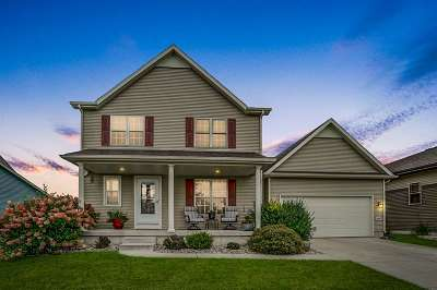 McFarland WI Single Family Home For Sale: $379,000