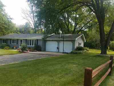 Janesville Single Family Home For Sale: 4954 N Fitzsimmons Rd