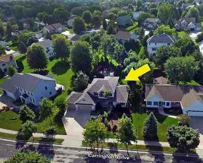 Sun Prairie Single Family Home For Sale: 1835 Carrington Drive