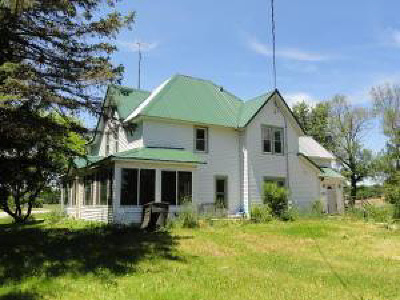 Jefferson County Single Family Home For Sale: W3930 State Road 106