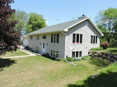 Jefferson County Single Family Home For Sale: W8129 Us Highway 12