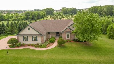 Dodge County Single Family Home For Sale: N157 Huber Brooks Dr