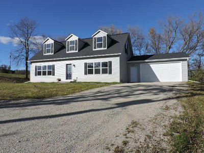 Jefferson County Single Family Home For Sale: W2890 County Road Y