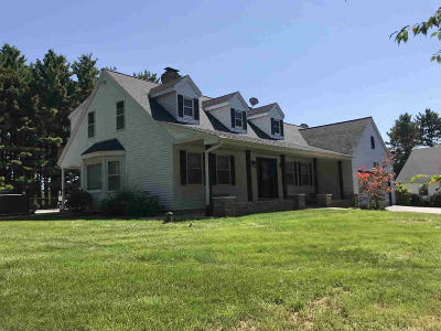 Jefferson County Single Family Home For Sale: N1422 State Road 12