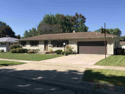 Janesville Single Family Home For Sale: 1527 N Sumac Dr