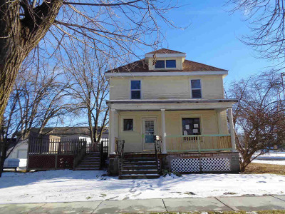 Columbus Single Family Home For Sale: 351 S Water St