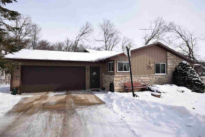 Dodge County Single Family Home For Sale: N11790 Lettau Dr