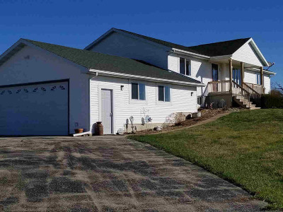 Waterloo Single Family Home For Sale: 7713 N Toppe Rd