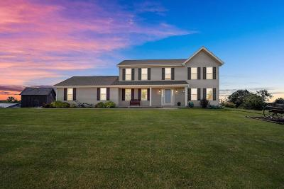 Dodge County Single Family Home For Sale: N3934 County Road R
