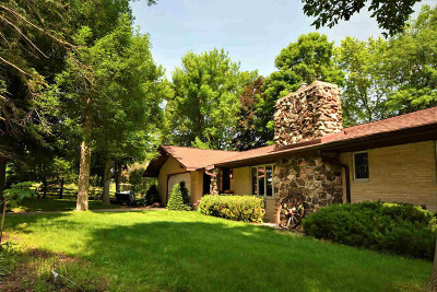 Dodge County Single Family Home For Sale: 11190 W Lake Rd