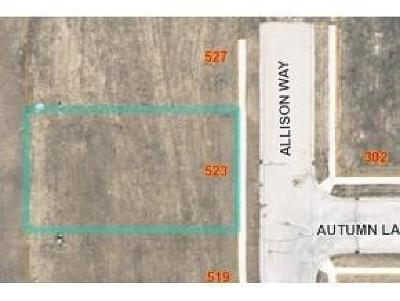 Fond du Lac County Residential Lots & Land For Sale: Lt2 Allison Way Way
