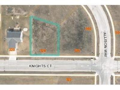 Fond du Lac County Residential Lots & Land For Sale: Lt8 Knights Ct Court