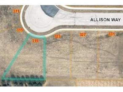 Fond du Lac County Residential Lots & Land For Sale: Lt14 Allison Way Way