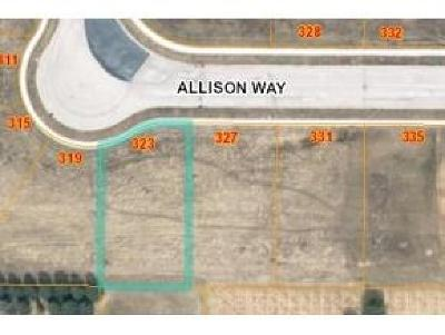 Fond du Lac County Residential Lots & Land For Sale: Lt15 Allison Way Way