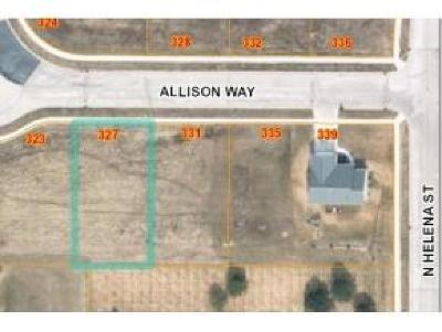 Fond du Lac County Residential Lots & Land For Sale: Lt16 Allison Way Way