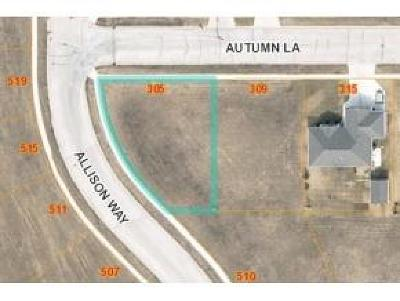 Fond du Lac County Residential Lots & Land For Sale: Lt40 Autumn Ln Lane