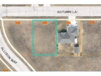 Fond du Lac County Residential Lots & Land For Sale: Lt41 Autumn Ln Lane