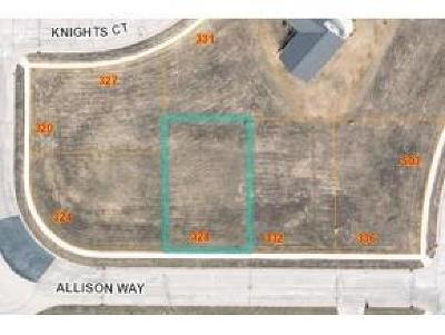 Fond du Lac County Residential Lots & Land For Sale: Lt53 Allison Way Way