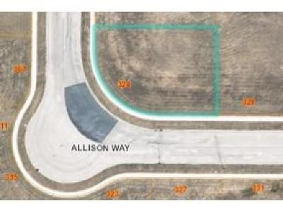 Fond du Lac County Residential Lots & Land For Sale: Lt54 Allison Way Way