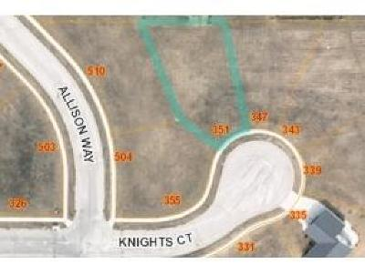 Fond du Lac County Residential Lots & Land For Sale: Lt61 Knights Ct Court