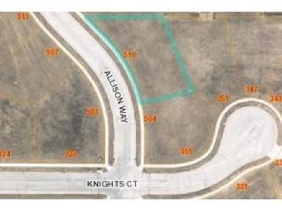 Fond du Lac County Residential Lots & Land For Sale: Lt62 Allison Way Way