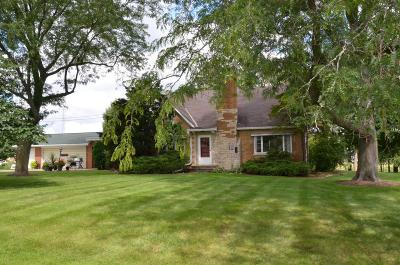 Green Lake County Single Family Home For Sale: W514 Town Line Rd Road