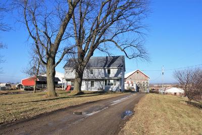 Dodge County Single Family Home For Sale: W6090 Train Rd Road
