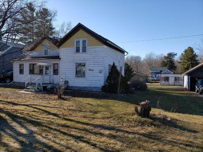 Lowell WI Single Family Home For Sale: $54,900