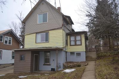 Mayville WI Single Family Home For Sale: $69,900