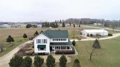 Fond du Lac County Single Family Home For Sale: W1019 County Road B