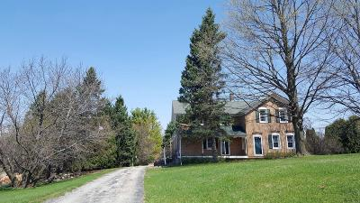 Dodge County, Fond Du Lac County Single Family Home For Sale: W3352 Oaklawn Rd Road