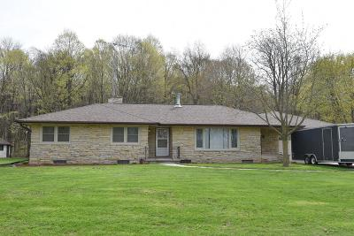 Fond du Lac County Single Family Home For Sale: N333 County Road S